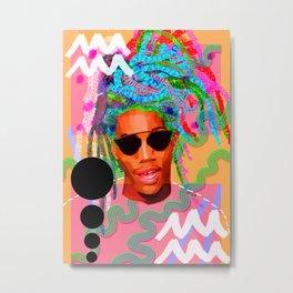 Aquarius (Man) Metal Print