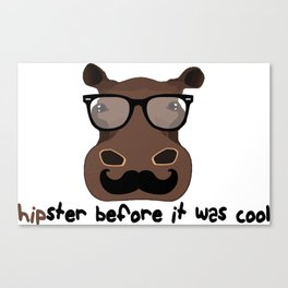 Hipster? Canvas Print