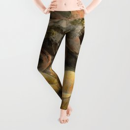 "William Blake ""The Great Red Dragon and the Woman Clothed with the Sun"" Leggings"