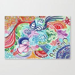 Happy Colors Canvas Print