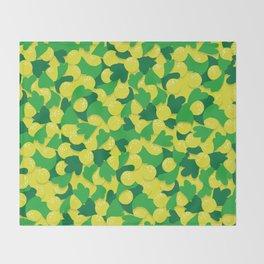 yellow world! Throw Blanket
