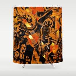 band Shower Curtain
