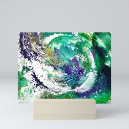 Green Planet Mini Art Print
