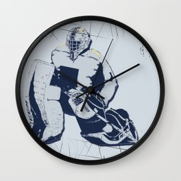 Pro Goalie - Ice Hockey Wall Clock
