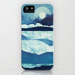 Blue Desert iPhone Case