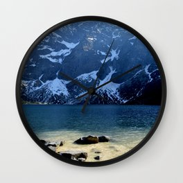 Morskie Oko Wall Clock