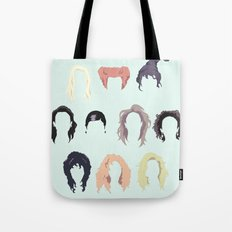 Witch Hair Tote Bag