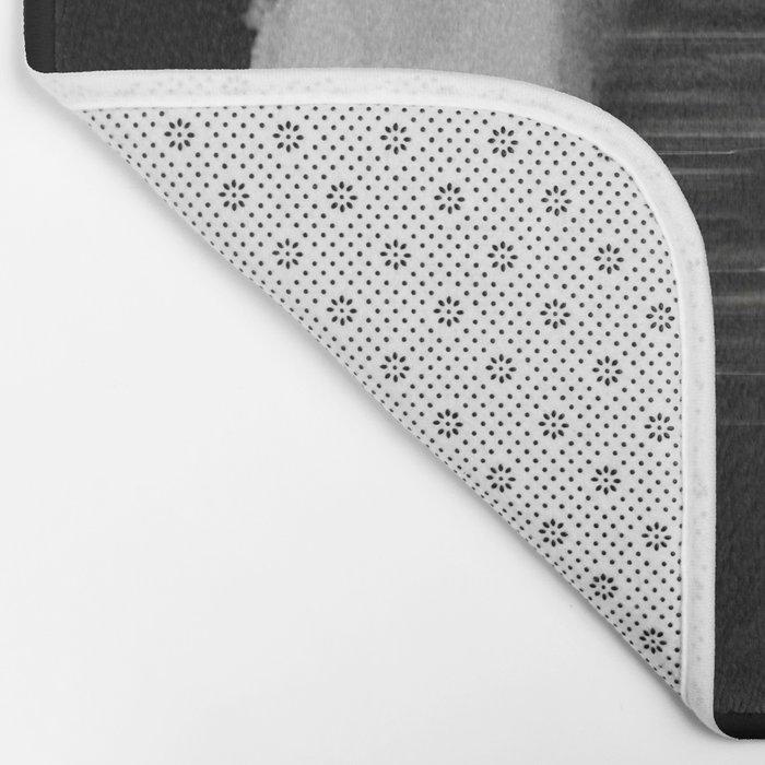 A tight spot in the rain Bath Mat