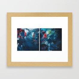 Coping Mechanism II Framed Art Print