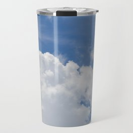 Fluffy Puffy Clouds in the Florida Sky Travel Mug
