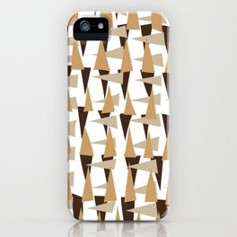 brown spearheads iPhone Case