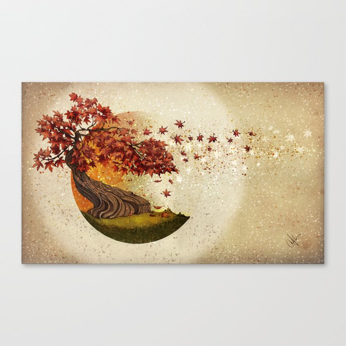 Autumn and other stories Canvas Print