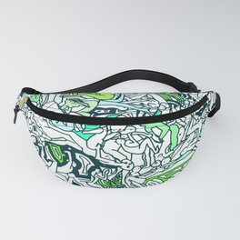 Kamasutra LOVE - Forest Green Fanny Pack