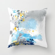 a room with view from asteroid B 612 _ the little prince Throw Pillow