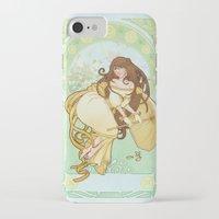 art nouveau iPhone & iPod Cases featuring Art nouveau by superkip