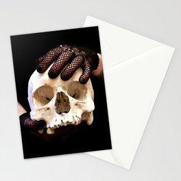 Martin the skull Stationery Cards