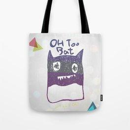 OH TOO BAT-2 Tote Bag