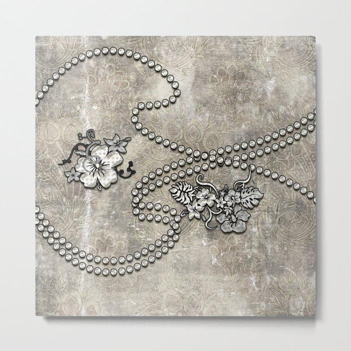 Wonderful decorative vintage design Metal Print