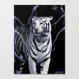 SPIRIT TIGER OF THE WEST Canvas Print