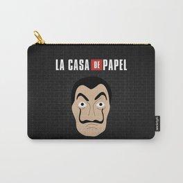 Dalí La Casa de Papel Carry-All Pouch