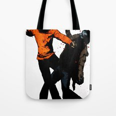 Zombie Fist Fight! Tote Bag