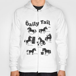 The Daily Tail Horse Hoody