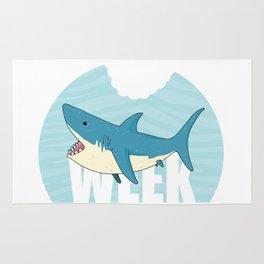 Shark Week Rug
