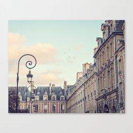 PLACE DES VOSGES (Paris, France) Canvas Print