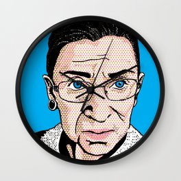 Pop Ruth Bader Ginsburg Wall Clock