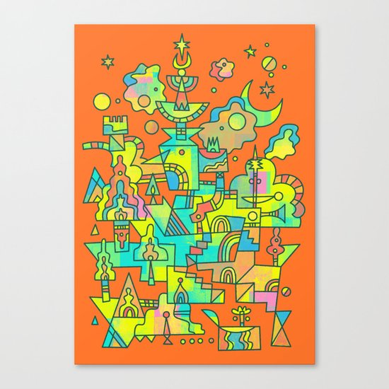 Structura 10 Canvas Print