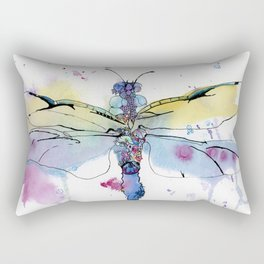 Dragonfly series: Winged Summer Rectangular Pillow