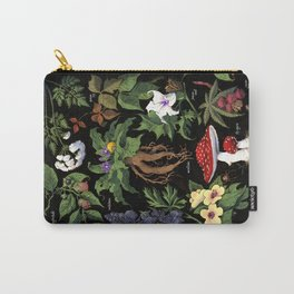 Poison Plants Carry-All Pouch