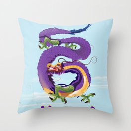 Hanoi Dragon, Vietnam Throw Pillow
