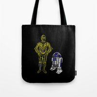 C3TYPO and R2TYPO Tote Bag