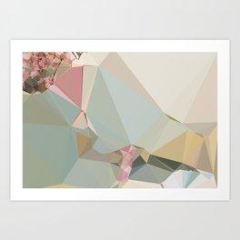 MILLENNIAL PINK Art Print