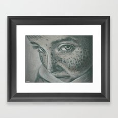 pecas! Framed Art Print