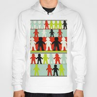 equality Hoodies featuring Equality by Hilka Zimmerman