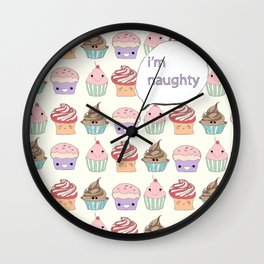 I'm Naughty Wall Clock