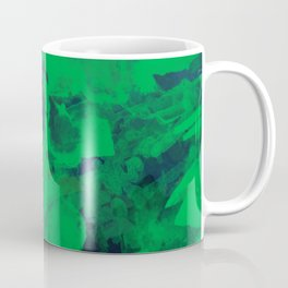 Green Watercolor Coffee Mug