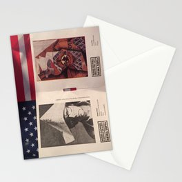 America and Spain Stationery Cards
