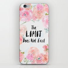 The Limit Does Not Exist iPhone & iPod Skin