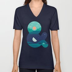 Day & Night Unisex V-Neck