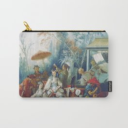 Le Jardin Chinois by François Boucher Carry-All Pouch