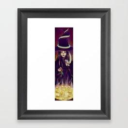 Witch! Framed Art Print