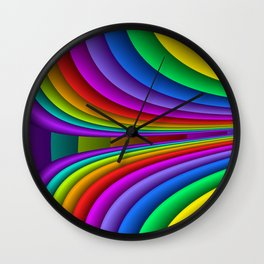 sweeping lines for your home -3- Wall Clock