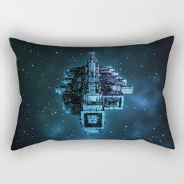 Leviathan BLUE / Keep on trucking Rectangular Pillow