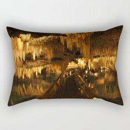 Bermuda Crystal Caves Rectangular Pillow