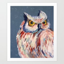 Subtle Owl Art Print