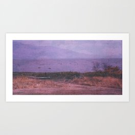 Peace ashore Art Print
