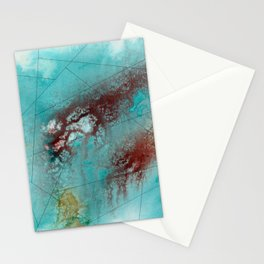 Maps Stationery Cards